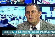 """Capcanele falimentului personal. Piperea îi cere lui Iohannis să trimită legea înapoi în Parlament: """"Generează mai multe probleme decât soluţii"""""""