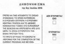 """Întrebarea la care grecii trebuie să răspundă la referendumul de duminică. Ce """"artificiu"""" apare pe buletinele de vot"""