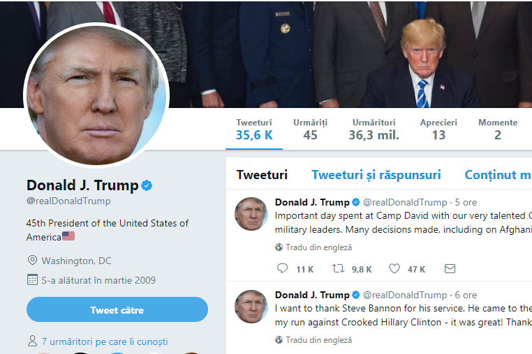 Suma uriaşă pe care ar pierde-o Twitter dacă Donald Trump n-ar mai posta