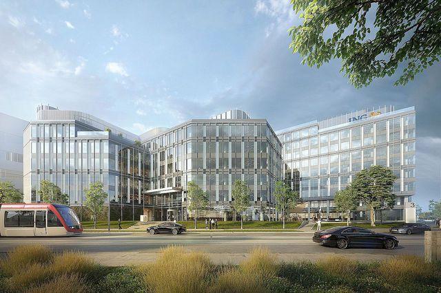 ING Bank îşi mută sediul central din România.  2000 de angajaţi vor lucra în Blue Rose Office Park