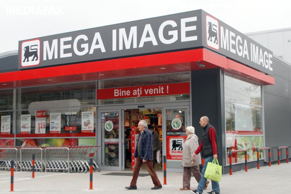 Câte magazine Mega Image sunt în Bucureşti, pe kilometru pătrat