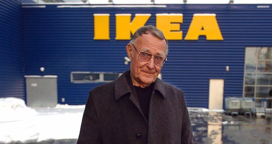 """Ingvar Kamprad, fondatorul IKEA, de la vânzarea de chibrituri prin vecini  la ridicarea unui imperiu. Succesul în afaceri, definit de frugalitatea şi caracterul """"neplăcut"""" al geniului suedez"""