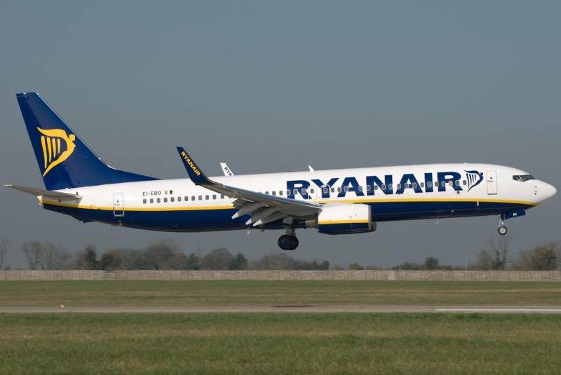 Ryanair a lansat o nouă rută aeriană din Bucureşti