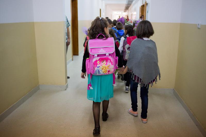 Rata abandonului şcolar este mai mare cu 20% în zona rurală