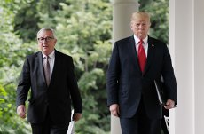 Trump şi Juncker, acord privind comerţul: ZERO taxe, ZERO bariere şi ZERO subvenţii pentru bunurile industriale