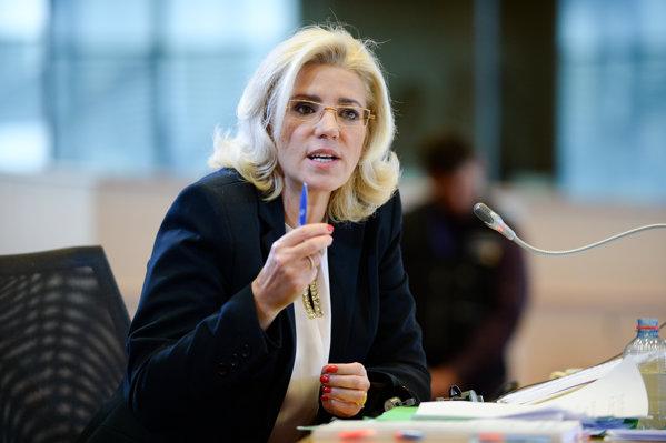 Comisarul european Corina Crețu