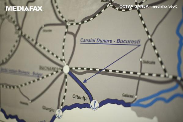Canalului Dunăre - București