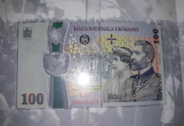 Bancnotele de 100 de lei cu Centenarul se vând cu 80-100 de euro pe OLX