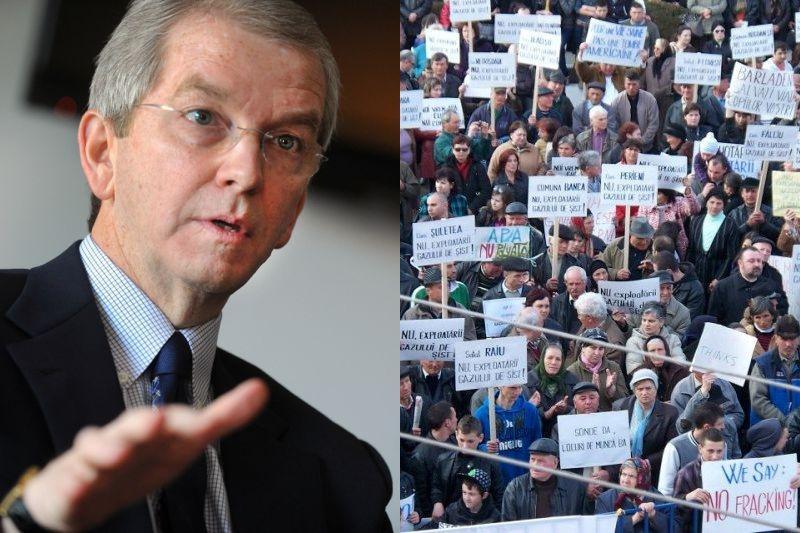 Reacţia reprezentanţilor Chevron la protestele de la Bârlad: