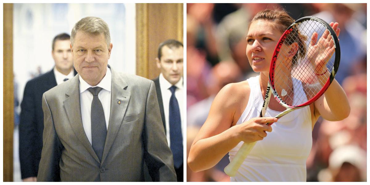 Presedintele Klaus Iohannis va juca un meci demonstrativ de tenis cu Simona Halep