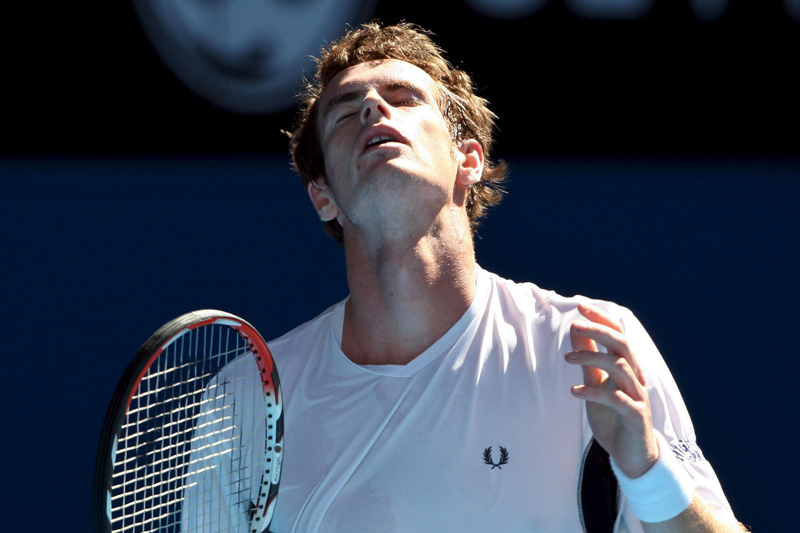 Andy Murray s-a calificat �n sferturi la Australian Open