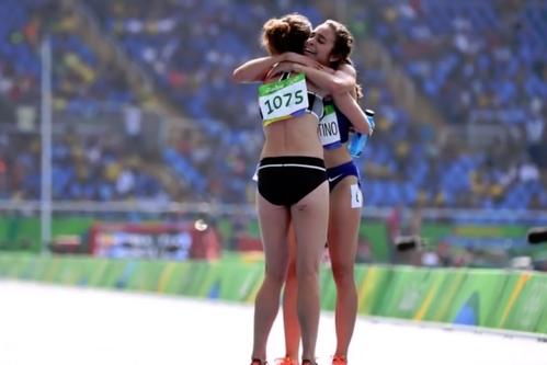 Cel mai frumos moment al Jocurilor Olimpice. După aceste imagini CIO le-a trimis direct în finală
