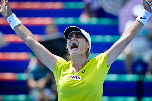 Monica Niculescu s-a calificat în finala turneului WTA de la Seul