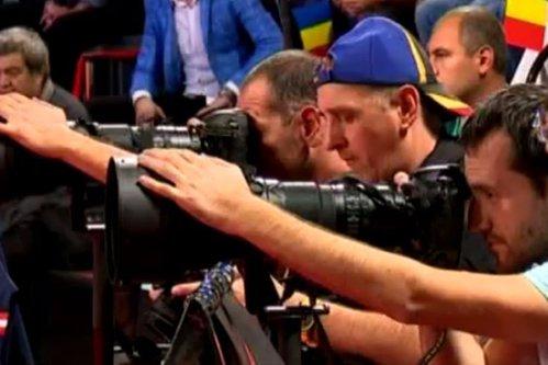 Aici a ajuns sportul românesc: meci de calificare pentru Campionatul European, jucat într-un studio TV