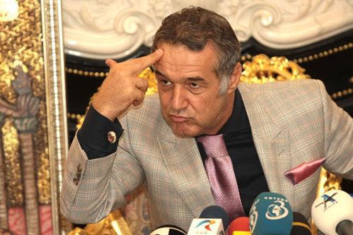 Becali, critici dure la adresa steliştilor după eşecul de la Mediaş