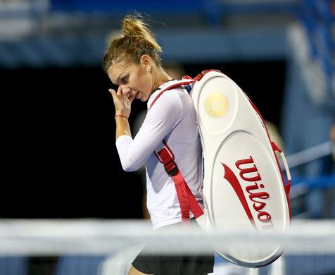 Simona Halep, eliminată în optimile turneului de la Shenzen după un meci dramatic