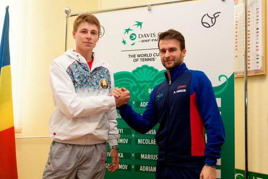 Belarus - România în Cupa Davis. Adrian Ungur îl întâlneşte pe Ilya Ivashka, în primul meci