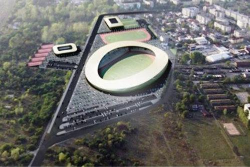 Ce mai face statul român cu banii: un orăşel cu 80.000 de locuitori va avea un stadion de 22 de milioane de euro