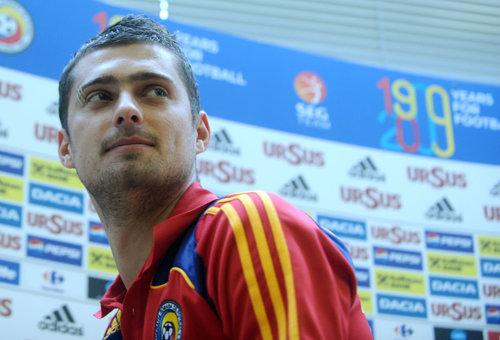Ce a făcut Tamaş, cu câteva ore înaintea meciului România - Danemarca. Fotografia a apărut pe Instagram