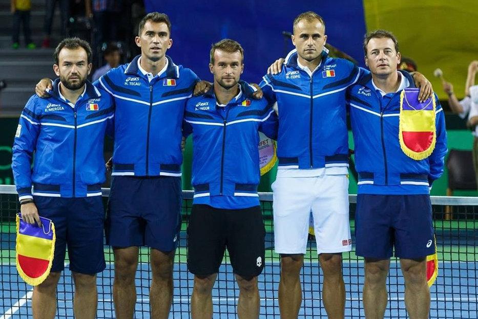Austria - România, în primul tur al barajului Grupei I, Zona Europa/Africa a Cupei Davis