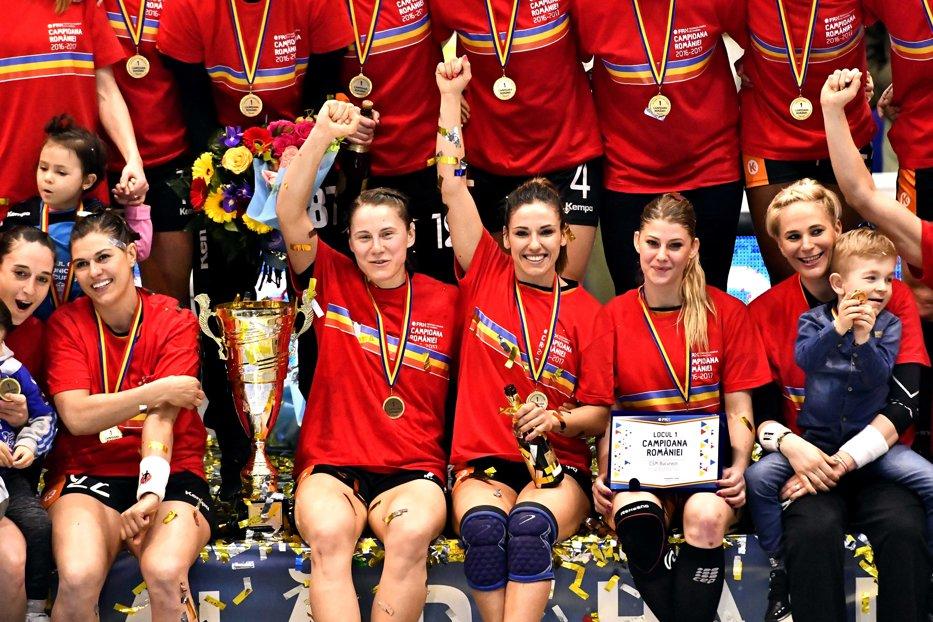 CSM Bucureşti s-a calificat în ultimele patru în Liga Campionilor la handbal feminin
