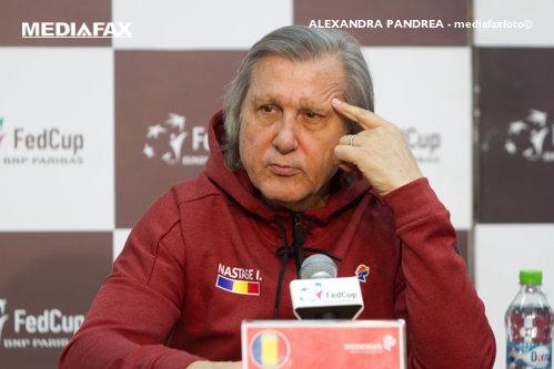 Ilie Năstase îşi cere scuze pentru scandalul de la Fed Cup