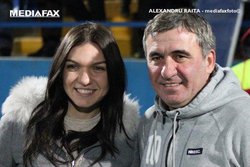 """Simona Halep, mesaj impresionant pentru Gică Hagi: """"L-am sunat după ce am câştigat titlul la Madrid..."""""""