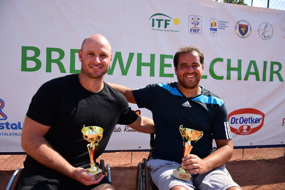 Israelianul Adam Berdichevsky a câştigat prima ediţie a BRD Bucharest Wheelchair Tennis Open