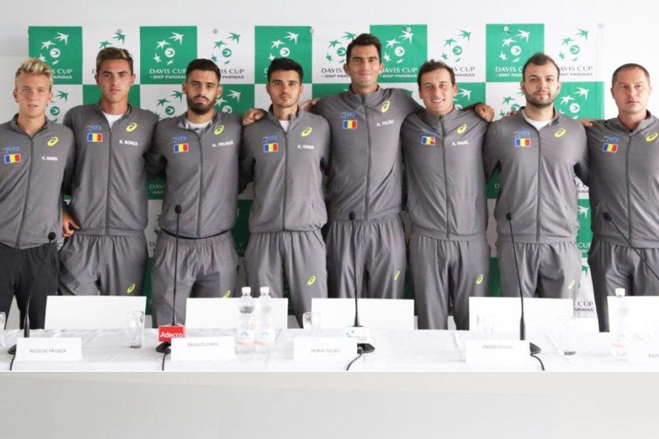 """Echipa de Cupa Davis a României, optimism înaintea meciului din Austria: """" Suntem în Wels să câştigăm"""""""
