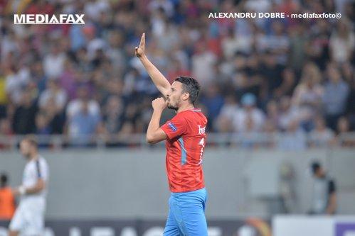 Noapte magică pentru FCSB. Golul fabulos al lui Budescu a impresionat Europa. Vicecampioana României este lidera grupei după 3-0 cu Plzen. VIDEO