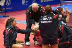 Aur pentru România la Europeanul de tenis de masă, după ce a învins echipa Germaniei. VIDEO
