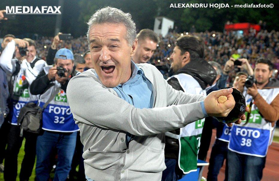 Gigi Becali, declaraţia cu care şochează:  Nu mai vreau campionatul, vreau Europa League