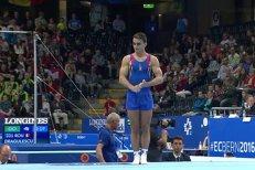 Marian Drăgulescu, după ce a ratat podiumul.