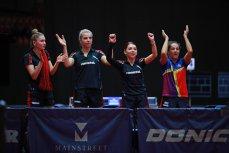 Campioană europeană, naţionala de tenis de masă a României a fost premiată. Cât plăteşte MTS pentru o medalie de aur