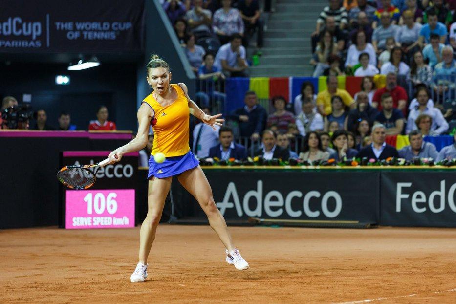 Cât te costă să o vezi pe Simona jucând tenis în România. Preţurile biletelor pentru meciul de Fed Cup cu Canada