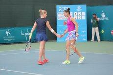 Mihaela Buzărnescu intră în Top100 WTA la dublu, după ce a câştigat turneul de la Dubai