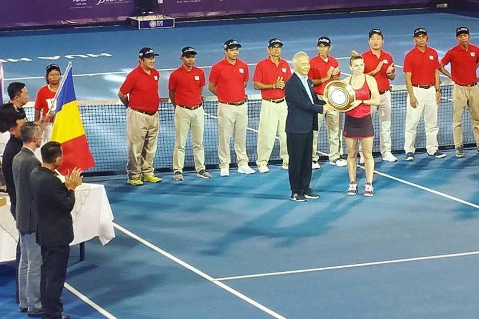 Simona Halep, foarte fericită după ce a câştigat turneul din Thailanda: Cineva mi-a spus că dacă o să câştig aici, o să câştig şi Australian Open