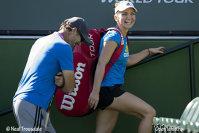 Imaginea articolului O imagine cât 1000 de cuvinte. Cum arăta Simona Halep la câteva minute după meciul dramatic de la Australian Open. Fotografia din vestiare publicată de Darren Cahill