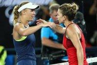 Imaginea articolului REACŢIA ULUITOARE a Carolinei Wozniacki după anunţul că Simona Halep va reveni pe locul 1 mondial