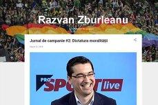 Un site neasumat foloseşte abuziv imaginea ProSport şi îl asociază pe Burleanu cu comunitatea gay