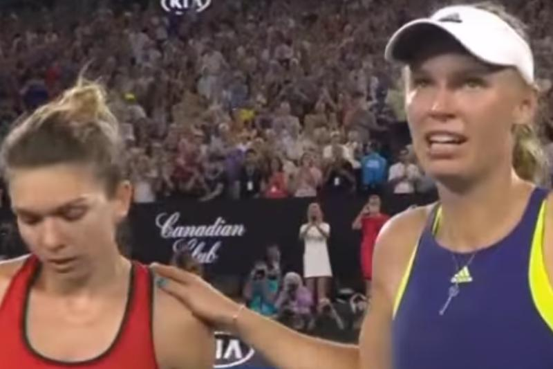 """Caroline Wozniacki, atac dur la adresa Simonei Halep. """"Nu contează numărul 1 pentru mine. Sunt cea care a luat ultimul trofeu de Mare Şlem"""""""