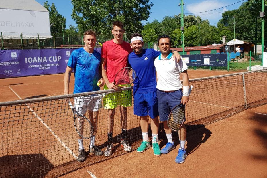 """Florin Mergea, eliminat în primul tur la """"Ioana Cup 2018"""". Juniorul român Nicholas Ionel, la doar 15 ani, meci incredibil cu unul dintre favoriţi"""