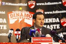 Ionuţ Negoiţă a vândut clubul Dinamo Bucureşti lui George Drăghia, patronul Lotus Perfect Products SRL