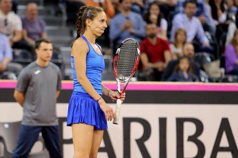 Mihaela Buzărnescu - Madison Keys 1-6 4-6 în optimile turneului de tenis de la Roland Garros