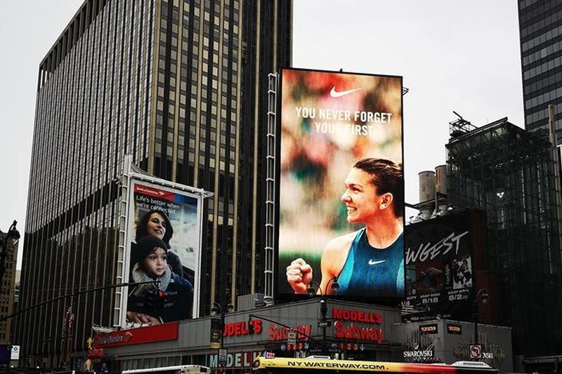 You Never Forget Your First. Mesaj pentru Simona Halep în New York