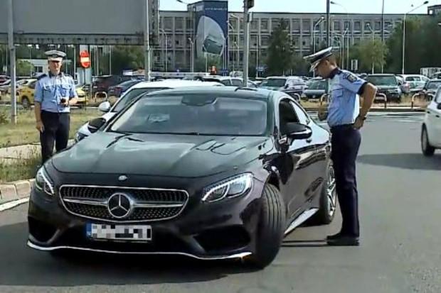 Poliţia Română: Simona Halep, 172 km/oră la serviciu
