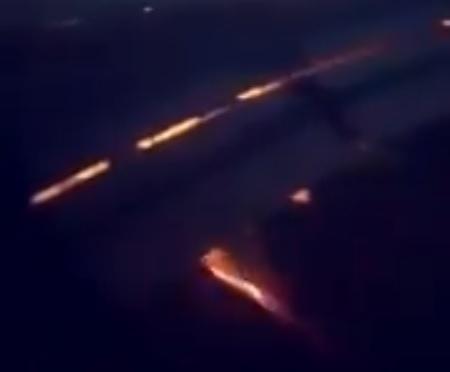 Cupa Mondială 2018. Unul din motoarele avionului care transporta echipa Arabiei Saudite în Rostov, la meciul cu Uruguay, a luat foc