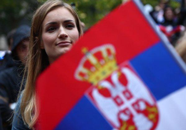 suporter serbia