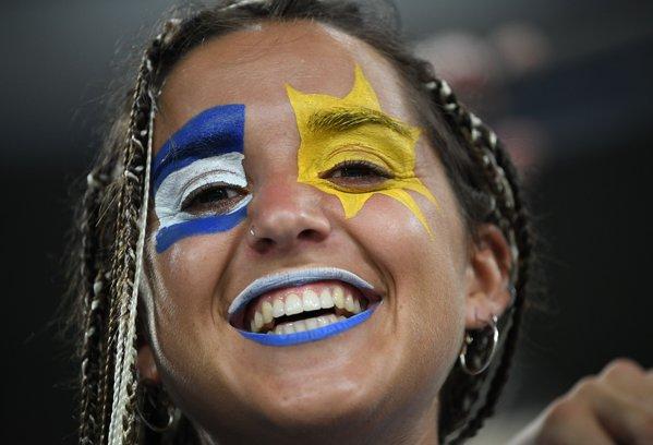 suporter uruguay