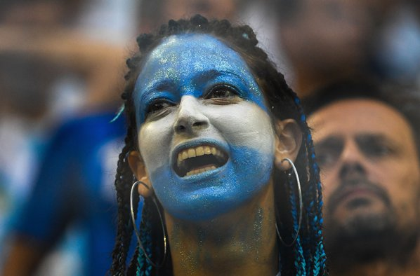 suporter argentina